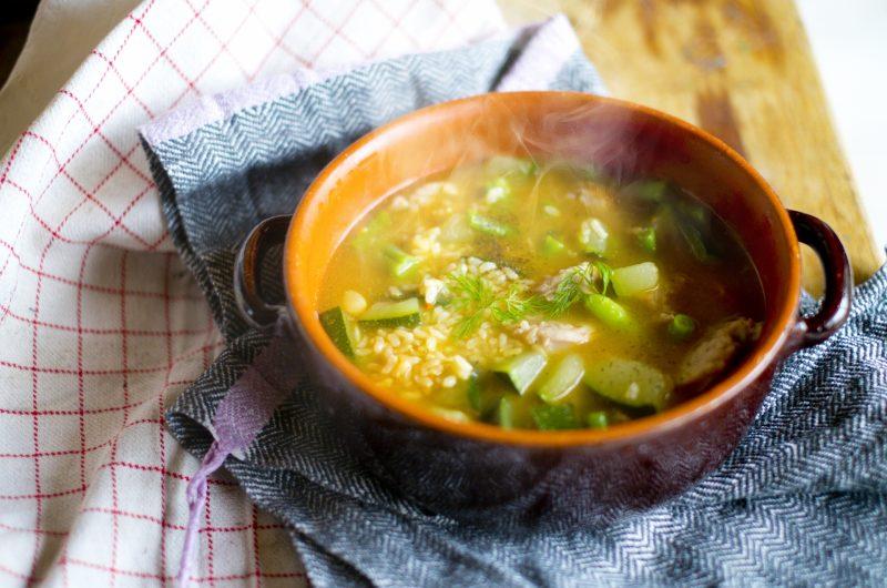 インゲンのにんにくスープのレシピ【男子ごはん】