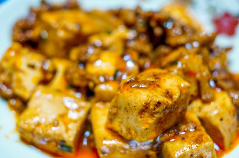 黄金比率の麻婆豆腐のレシピ【スッキリ】