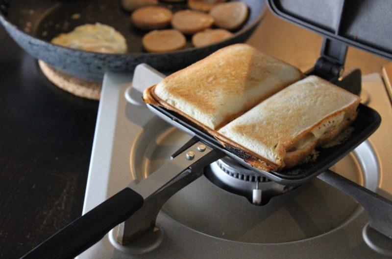 かた焼きそばサンドのレシピ【シューイチ】