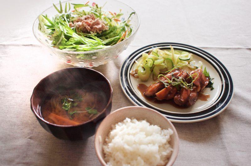 しっとり梅風味 鶏むね肉のはちみつ照り焼きのレシピ【ノンストップ】